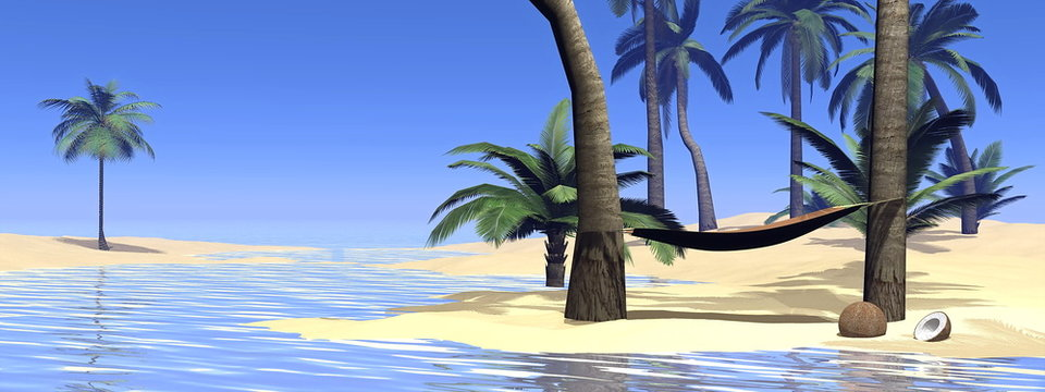 Relaxation - 3D render
