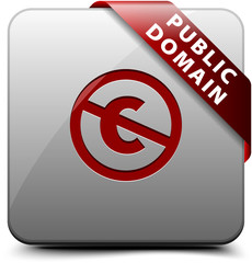 Public Domain button