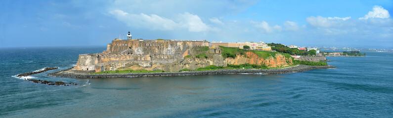 Aerial View of El Morro, San Juan Puerto Rico