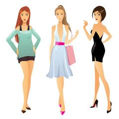 Fashion girls on big sale