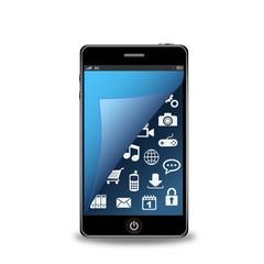 ベクター、スマートフォンとアプリ