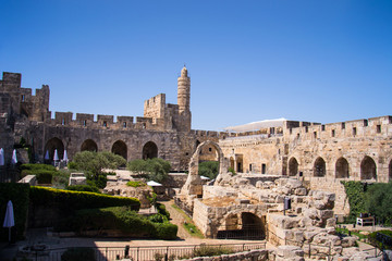 David Tower .The Old City Jerusalem.
