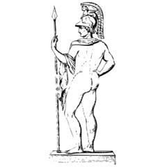 Ares Gott des Krieges