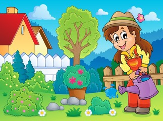 Image with gardener theme 2