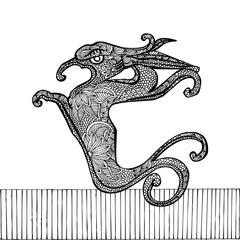Black Dragon- Chinese zodiac
