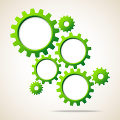 Abstract Background Green Gears