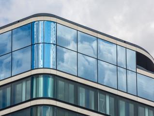 Gebäudefassade in der Hafencity Hamburg