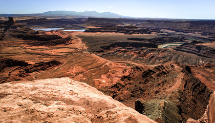 Dead horse point canyon land