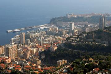 Vue générale de Monaco