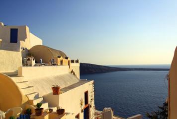 Paysage des îles grecques des Cyclades en Grèce