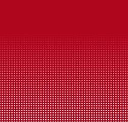 Roter Hintergrund mit Verlauf von weißen Kästchen