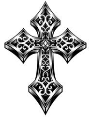 Ornate Celtic Cross