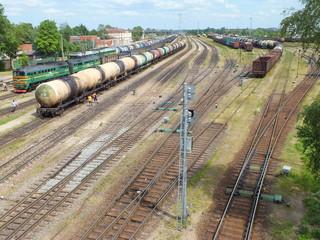 Railway station (Jelgava, Latvia)