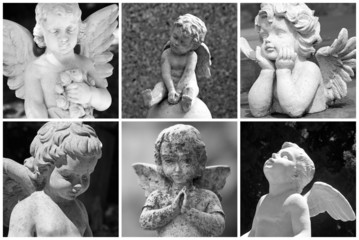 angelic collage