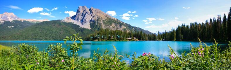 Panorama lac emerald, canada