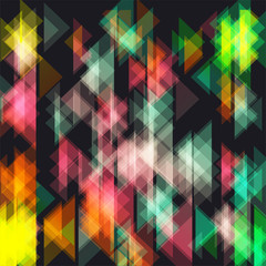 retro style abstract geometric background