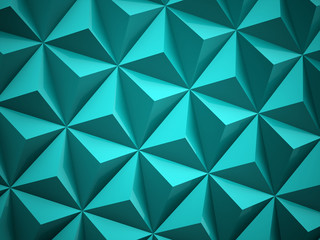 Abstract blue polygonal