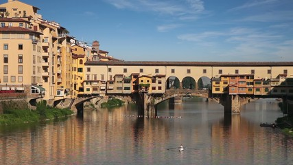 Fototapete - Ponte Vecchio bridge. Florence, Italy