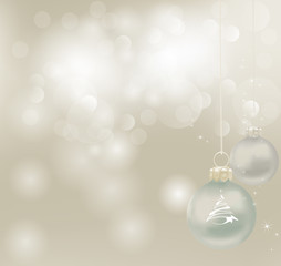 Christmas Background. Abstract Vector Illustration