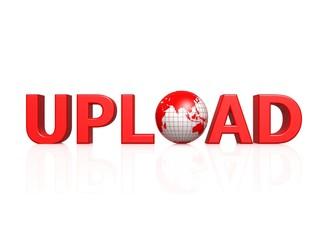 Upload with globe