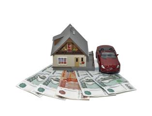 Дом машина деньги
