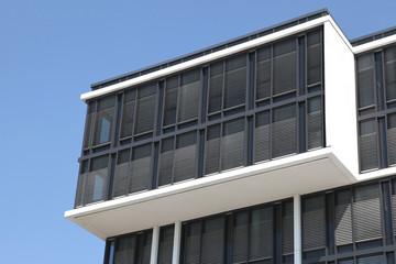 Details eines modernen Bürogebäudes