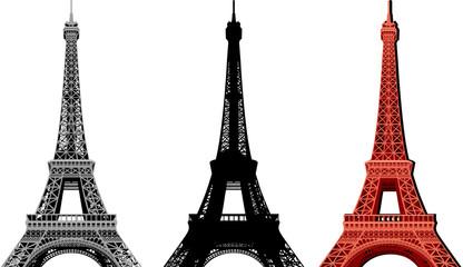 Paris - Eiffelturm Vektorpaket