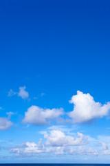 ciel bleu des tropiques