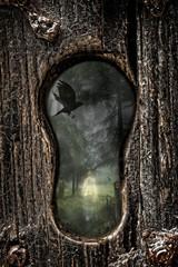 Halloween Keyhole
