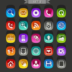 Flat icons-set 2