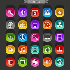 Flat icons-set 1