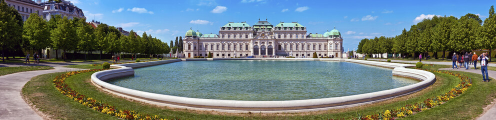 Belvedere Palace of Vienna