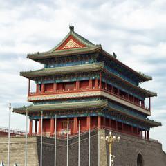 Foto op Aluminium Xian Zhengyang men - Tienanmen Square - Beijing