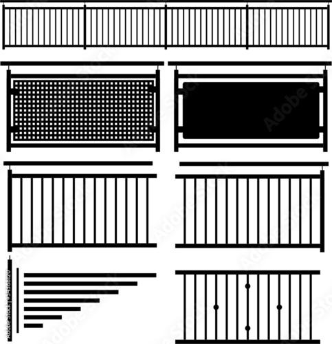 gel nder bausatz schwarz silhouette stockfotos und. Black Bedroom Furniture Sets. Home Design Ideas