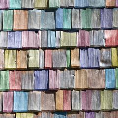 colored shingles