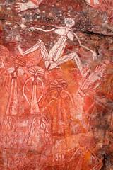 Wall Mural - Aboriginal rock art, Nourlangie, Kakadu National Park