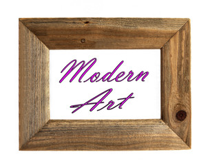 Modern Art - Picture Frame