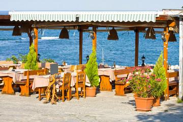 Outdoor restaurant, Bulgaria