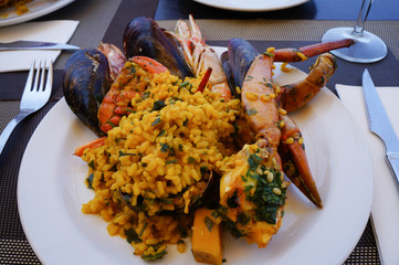 paella - spanish