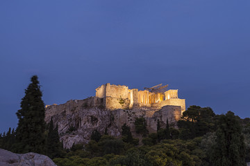 Fototapete - Acropolis in Athens,Greece