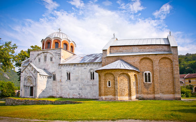 Orthodox monastery Studenica in Serbia,