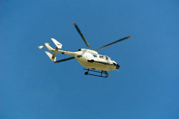 BK 117 air ambulance, Fonte Vetica, Gran Sasso, Italy