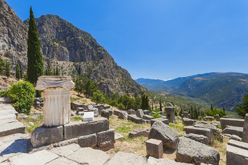 Wall Mural - Delphi,Greece