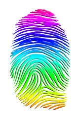 Rainbow Finger Print