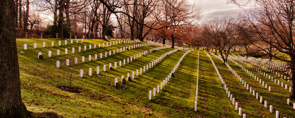 Arlington National Cemetery in Virginia, USA