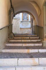 Alleyway. Biccari. Puglia. Italy.