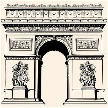 France - Paris - Arc de triomphe