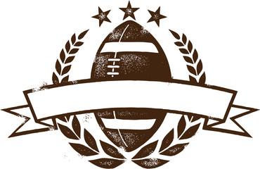 American Football Grunge Design