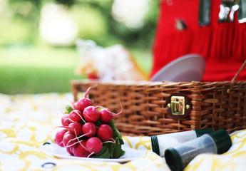 Photo sur Aluminium Pique-nique Picknick