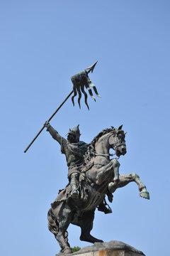 Statue Guillaume le Conquêrant à Falaise 4